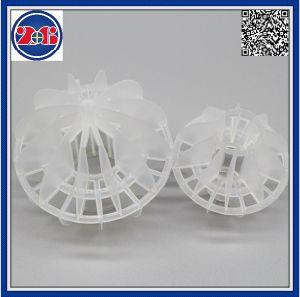 Plastic Polyhedral Holle Bal voor de Toren van de Verpakking in Industrie van de Aardolie