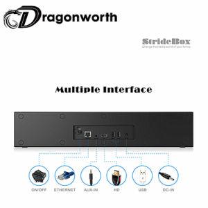 S905X Stridebox Z1 androide intelligente freie Filme Fernsehapparat-Boxstb (gesetzter Spitzenkasten)