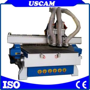Router CNC gravura de corte da máquina para o trabalho da madeira