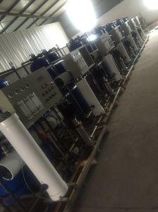 Accoppiamento per la purificazione industriale di trattamento delle acque del RO