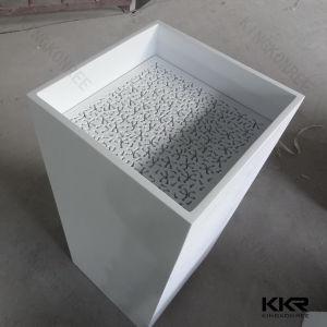 Kkrのダイヤモンドデザイン白い固体表面の軸受けの流し