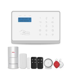 スペインのイタリアのロシアのイタリア語APPが付いている2017年のWiFi 3G 4G GSMのスマートなホーム・オートメーションアラーム機密保護の侵入者の警報システム