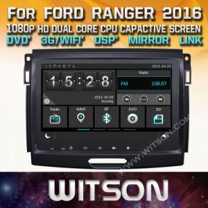Tela de Toque do Windows Witson aluguer de DVD para a Ford Ranger 2016