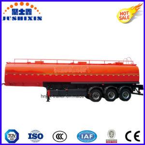 De Aanhangwagen van de Vrachtwagen van de Tanker van de Stookolie van het Koolstofstaal van drie As