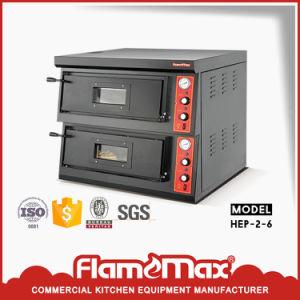 Het elektrische 2-dek van de Oven van de Pizza (hep-2-6)