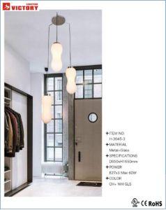 Hotel Moderno colgante colgante decorativa Iluminación con aprobación CE