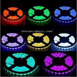 Tira de LED flexible de alto brillo con aprobación CE de color púrpura (Multi-color) la luz