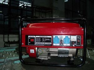 luftgekühlter beweglicher Generator des Benzin-6kw/6kVA/6000watt/des Treibstoffs
