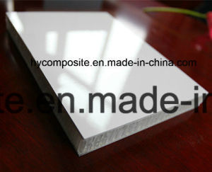 En fibre de verre personnalisé FRP PP Panneau alvéolé pour Caravane