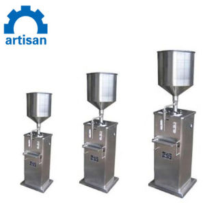 5-70ml 수동 소스 주스 올리브 기름 충전물 기계 포장기