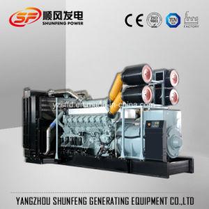 Большая мощность 1600 квт электроэнергии дизельный генератор с Mitsubishi двигатель