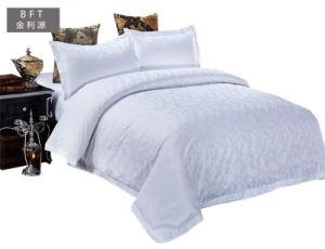 ホテルの白い寝具一定ファブリック100%年の綿の贅沢な寝具セット