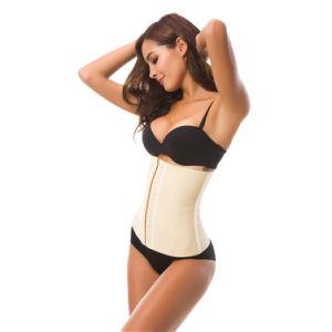 Lencería sexy Corset de cintura para las mujeres Cincher Formador de hueso de acero de 9