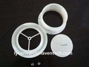 Valvola a disco di plastica per uso di ventilazione