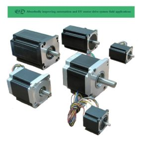 110mm 17mm 3 Fase híbrido Motor paso a paso con alta precisión controladas sinusoidal pura disponible