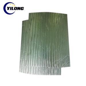 L'argent tissé d'aluminium XPE BOPET Alu aluminium laminé des rouleaux d'isolement