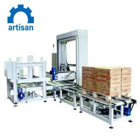Niveau faible automatique Palletizer servo pour les cas de la machine d'emballage