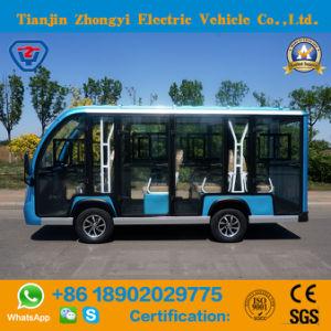 11 Seaters Electric Autocarro Turístico balcão de aluguer com bom preço