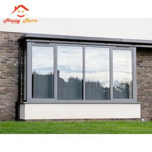 Vetratura doppia di alluminio Windows di buona qualità di 6063 profili
