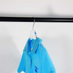カスタム優れた品質の壁に取り付けられたアクリルの衣服のスーツのワイシャツのハンガーラック
