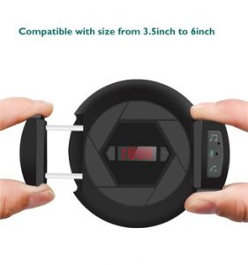 Transmisor FM Bluetooth Car Kit adaptador de radio inalámbrica para iPhone