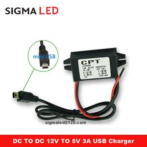 Кпп 12 Вольт на 5 вольт DC преобразователь с правом под углом 90 градусов разъем Micro-USB-кабель для зарядки мобильного телефона в автомобиле