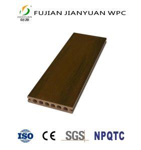 屋外ASA-PVCの共押出し木製のプラスチック合成物WPCの材木のフロアーリングのDecking