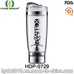 Weihnachten600ml USB-Plastikturbulenz-Protein-Erschütterung-Wasser-Flasche (HDP-0729)