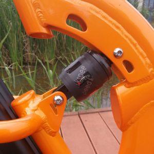 2018 Novo Modelo da estrutura de suspensão completa 20polegadas e bicicleta dobrável