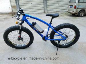 Los neumáticos de la grasa de la batería de litio bicicleta eléctrica de la playa de nieve E-bicicleta