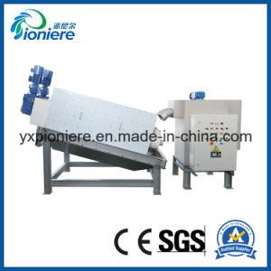 De Ontwaterende Machine van de Modder van het Type van Schroef van de Pers van de filter voor Visproduct