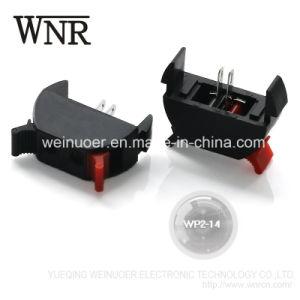 Wp2-14 2 Pin Micro empujar el bloque de terminales Wp Conector Terminal Muelle