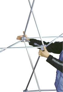 Aluminiumausstellungsstand knallen oben System (DW-VPU-1 4*3/3*3) für im Freiengebrauch