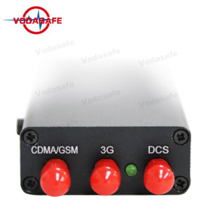 Jammer celular Bloqueo para CDMA/GSM/3G móvil Wifi/Bluetooth, eficaz para GSM y CDMA / DC / Phs / 3G de hasta 10 metros (30 pies)