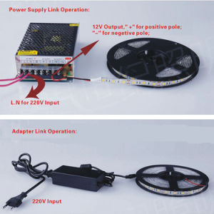 Indicatore luminoso di striscia ultra luminoso del nastro di IP20 70LEDs/m SMD3014 LED