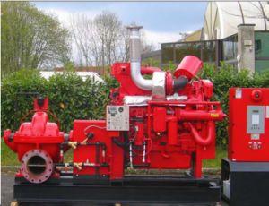 La lucha contra incendios caso Split Bomba de agua de Diesel