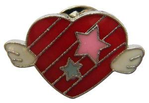 2017熱い販売の中心形の紋章Pin