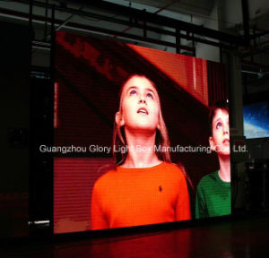 P3.33 Haute Luminosité affichage LED en couleur de la publicité de panneau