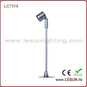 Aprobación CE 1W armario bajo la luz para Joyería LC7316