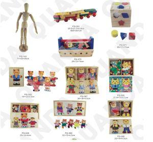 Erstklassige hohe Block-Puzzlespiel-Kästen für Kinder