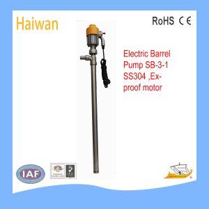 Sb pompe de fourreau de la série, pompe de tambour électriques (SB-6// SB SB-3-1-4)