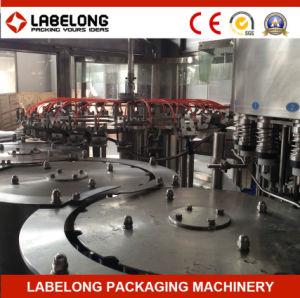 Linea di imbottigliamento automatica di piccola capacità dell'acqua di fonte macchina imballatrice
