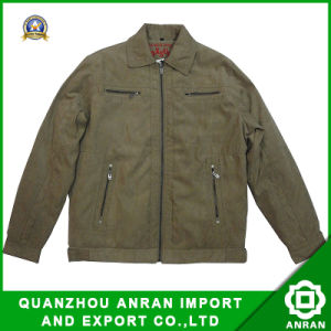 Il rivestimento del cappotto degli uomini per modo copre (pelle scamosciata riempita EL-10)