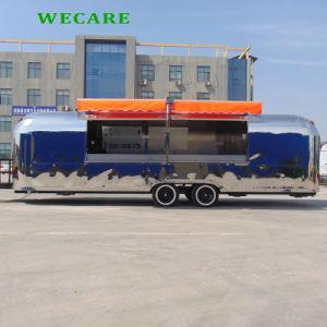 高品質の新しいデザイン通りの食糧トラック