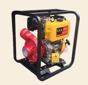 3pulg./3 406ml Cast-Iron Diesel refrigerado por aire la bomba de agua
