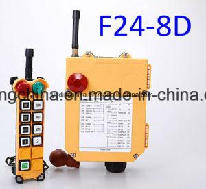 AC220V/380V A paragem de emergência F24-8d Telecrane telecomando de rádio para o novo carrinho de içamento do guindaste /Bridge/Eot/Guindaste