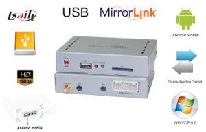 Auto-Spiegel-Link-Navigations-Kasten Telefon-zu-Sony rastern die Spiegelung durch USBusb-Anschluss