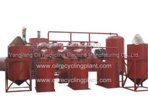 Utiliser la machine de recyclage des huiles de graissage