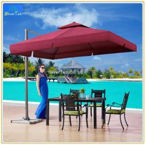 Jardín de Sun PARAGUAS paraguas personalizados sombrilla paraguas impermeable al aire libre para cafe-W00058