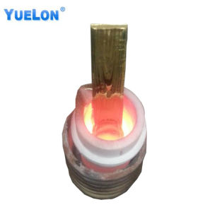金のための小さい携帯用溶ける炉かアルミニウムまたは銅または銀またはプラチナ